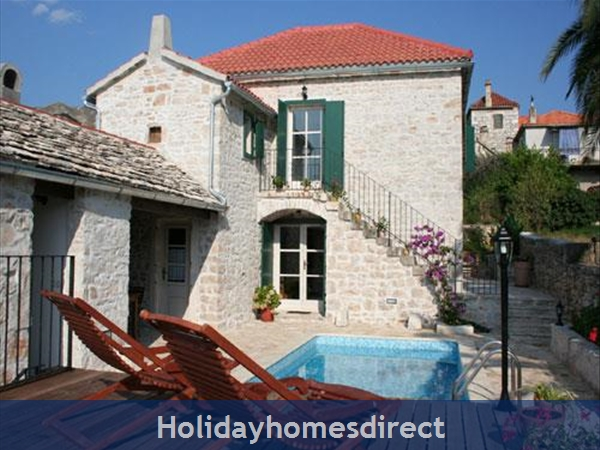 3 Bedroom Stone House With Pool In Mirca On Brac Island (bc027): Image 8
