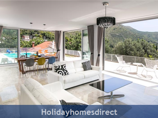 5 Bedroom Villa With Pool Near Dubrovnik, Sleeps 10-12 (du132): Image 4