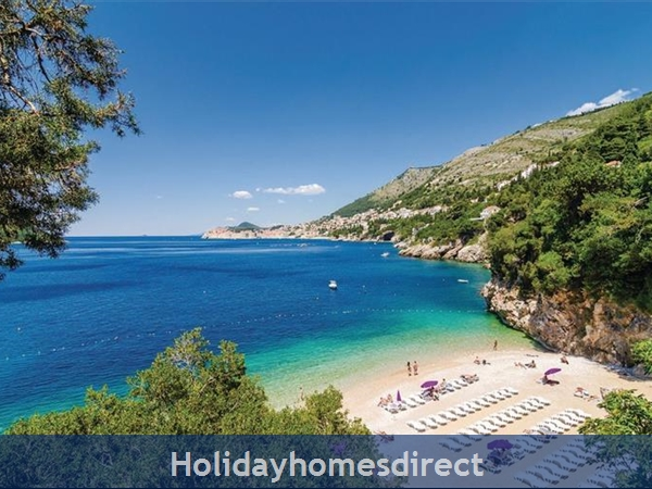 3 Bedroom Villa With Pool In Seaside Brsecine Near Dubrovnik, Sleeps 6 ( Du167): Image 3