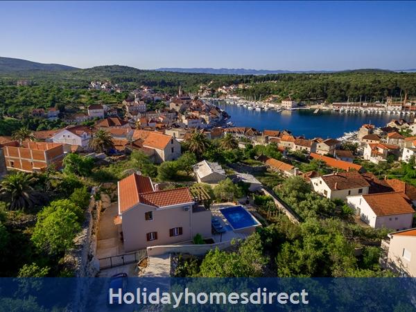 Villa Helena, Milna, Brac Island – 3 Bedroom Villa With Pool: Image 3