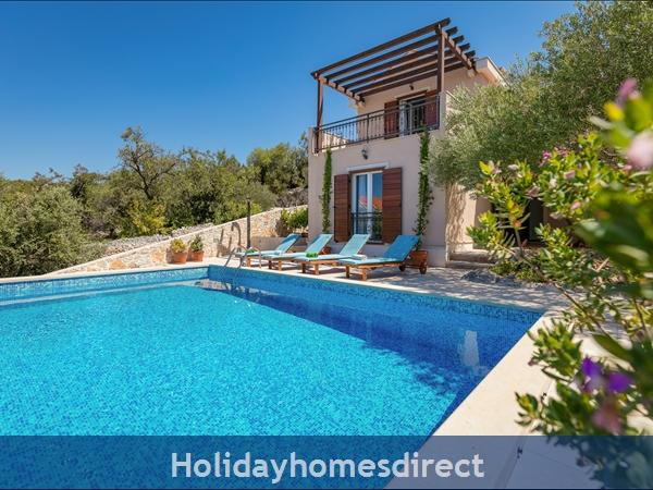 Villa Helena, Milna, Brac Island – 3 Bedroom Villa With Pool: Image 5