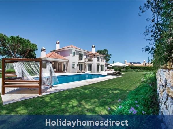 Villa Oasis – 5 Bedroom Holiday Villa In Quinta Do Lago Algarve: Image 4