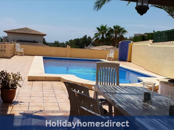 5 Bedroom Villa With Pool In Moraira, Costa Blanca, Spain: Image 9