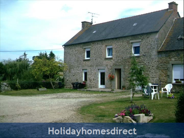 Holiday Homes Brittany With Heated Salt Water Pool, France
