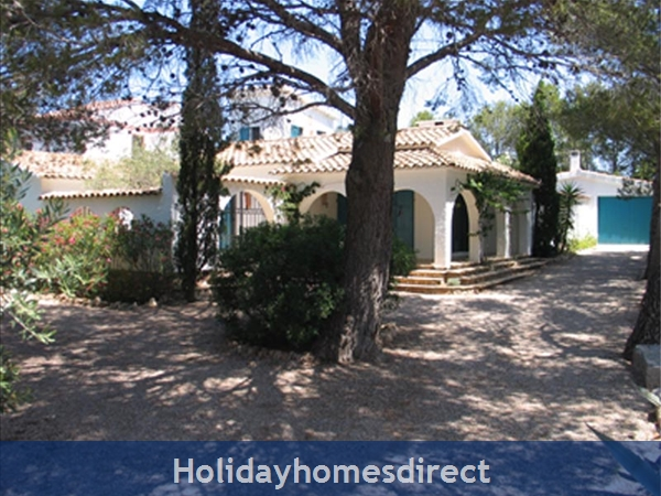 Charming Provencal Looking Villa With Inside Patio, Large Private Pool, 4 Bedrooms, 10 Guests.  Only 5 Minutes From The Beach.: Image 8