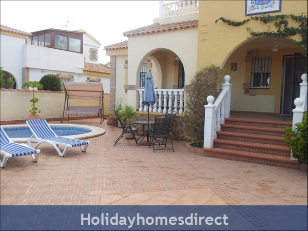 Baricia, A Spacious Villa, Private Pool, On A Large Plot.: Front View