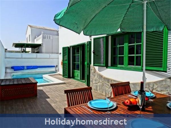 Villa Dorada with private heated pool