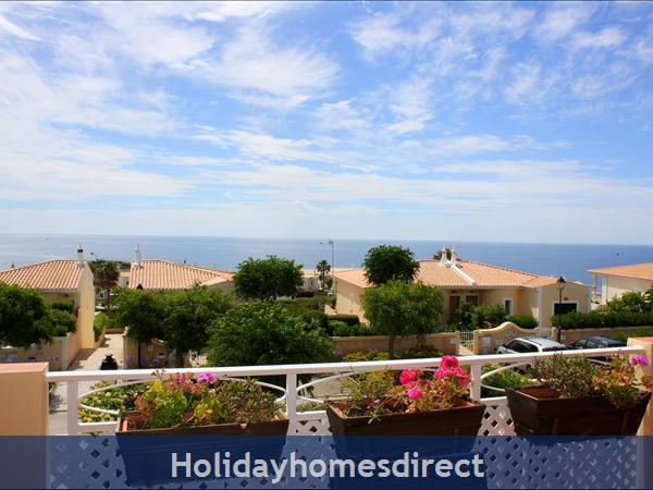Casa Bela Nova .. Walk To The Beach, Private Pool And Seaviews !: View from Veranda.