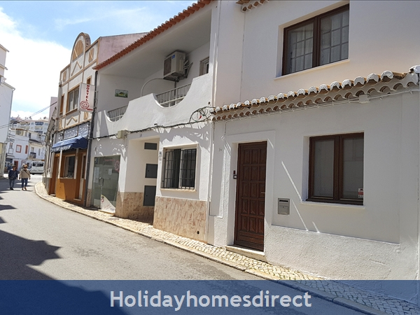 Casinha Town House. Within the old town walls of Lagos but only 5 mins from the beach !