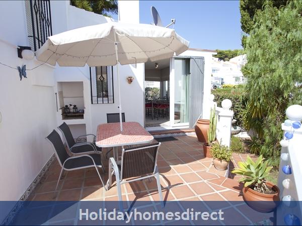 Casa Caballo: terrace