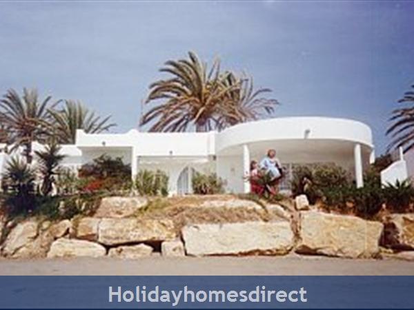 Beachfront Villas: View of villas from beach